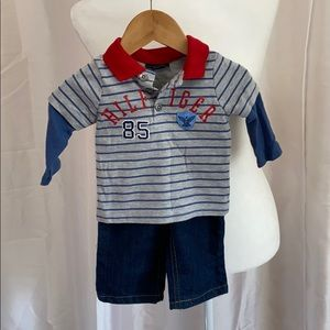 NWOT boys Tommy Hilfiger outfit